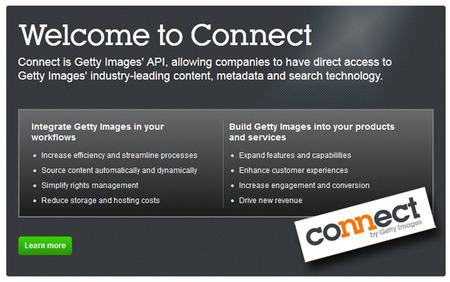 Ya puedes conectar a Getty Images mediante una API