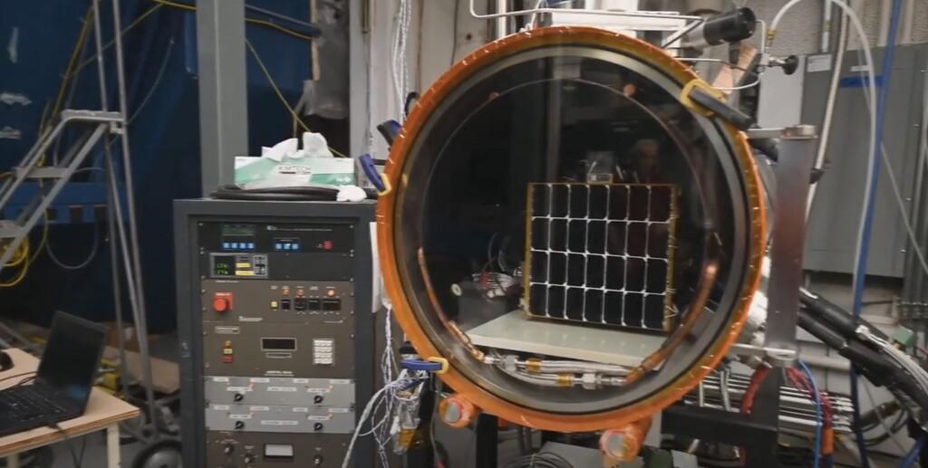 El Ejército estadounidense prueba un panel solar en el espacio con el que enviar energía a cualquier parte de la Tierra