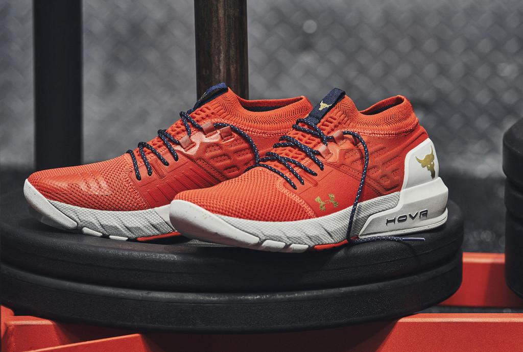 Under Armour presenta las nuevas PR2: unas zapatillas diseñadas por The Rock para los entrenamientos más exigentes