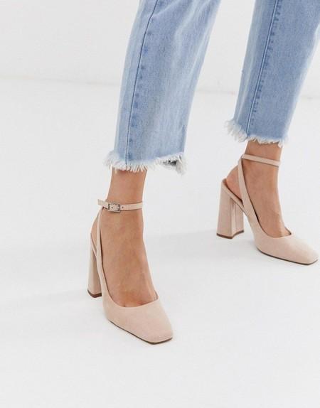 Zapatos Punta Cuadrada 06
