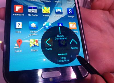 Una primera toma de contacto con el Galaxy Note II, ¡con vídeo!
