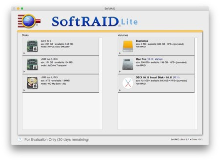 Softraid 5 1