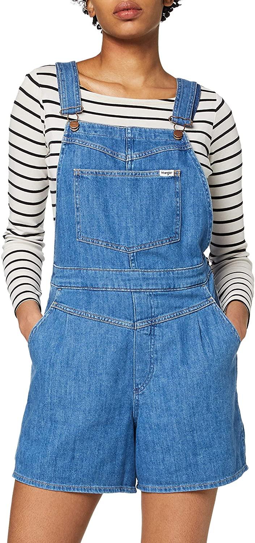 Wrangler Mom Bib Short pantalones de peto