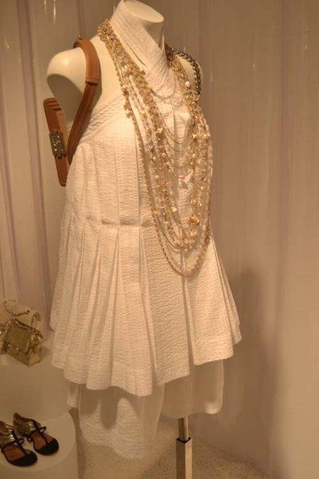 Blanco Chanel colección Verano 2012