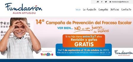 Revisión ocular y gafas gratis para niños entre 5 y 7 años