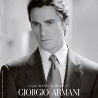Batman vestirá de Georgio Armani
