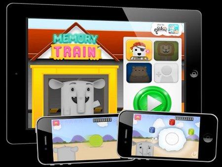 El tren de la memoria: bonito juego para entrenar la memoria