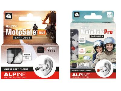 Desde sólo 15 euros y a través de tus oídos puedes mejorar tu seguridad en moto con los Alpine MotoSafe