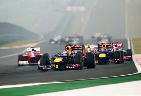 Cuarto triunfo consecutivo de Sebastian Vettel al imponerse en el Gran Premio de la India