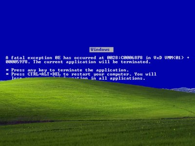 Los pantallazos azules salvaron a Windows XP de haberse visto más afectado por WannaCry