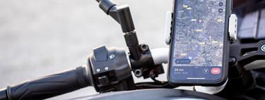 Aquí tienes siete aplicaciones útiles para crear rutas y organizar viajes en moto con el móvil
