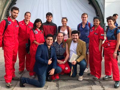 Con este chaleco mexicanos del IPN y UNAM pretenden monitorear los signos vitales de los astronautas