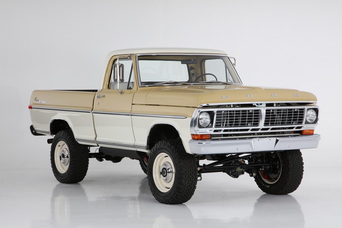 Ford Ranger 1970 Modificada Por Icon Una Preparacion Con Estilo Restomod