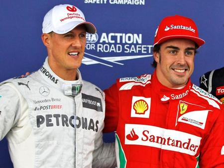 Fernando Alonso cerca de convertirse en el piloto con más puntos de por vida