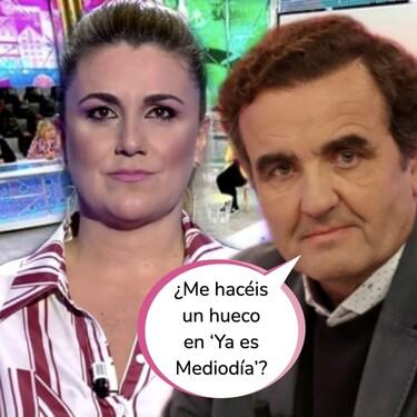 """Carlota Corredera estalla como nunca en 'Sálvame' y despide a Antonio Montero: """"Si él se queda, yo me voy"""""""