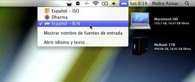 Cómo personalizar las fuentes de entrada de teclado y sus iconos, utilizando Ukelele para Mac OS X