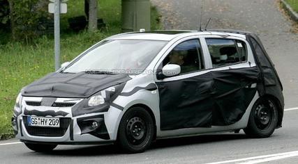 Primera foto espía del Hyundai i20, sustituto del Getz