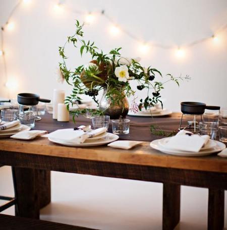 Añade un toque natural a la mesa este otoño