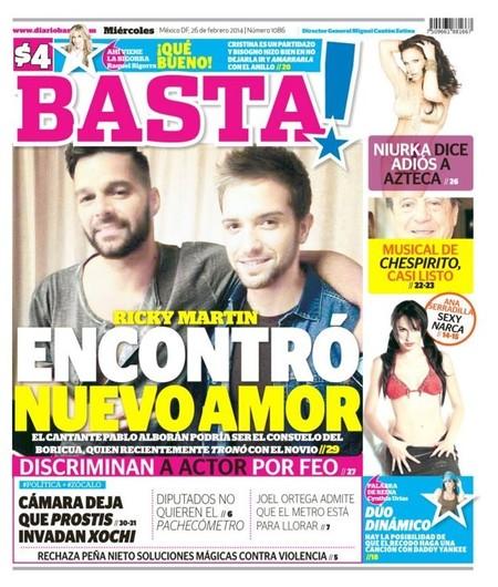 Y después de la foto, llegan los rumores para Ricky Martin y Pablo Alborán