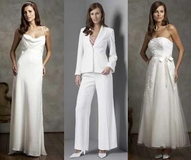 Es un vestido de novia M&S