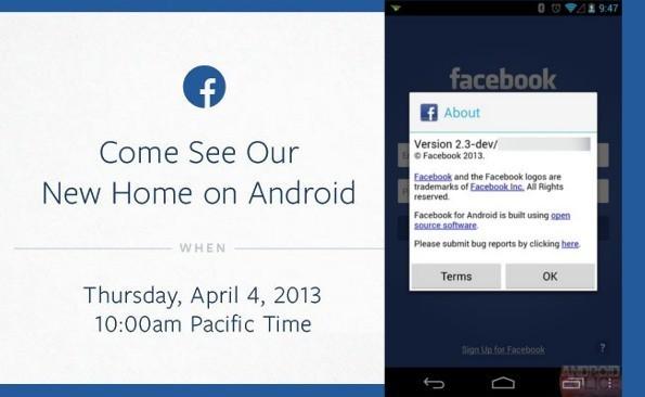 Facebook podría lanzar el jueves su propio launcher para Android