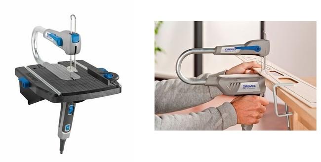 Ideal para marquetería y manualidades, la sierra de calar estacionaria Dremel Moto-Saw MS20-1/5 está por 83,90 euros en Amazon