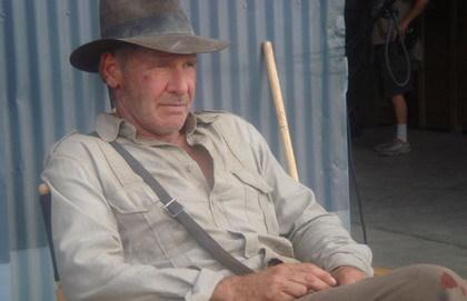 Primera foto oficial de 'Indiana Jones IV'