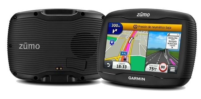 Garmin zūmo 390LM te saca de paseo el domingo con tu motocicleta