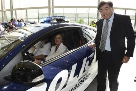 Los Renault Mégane R.S. de la Policía Municipal de Madrid se estrenarán con Felipe VI