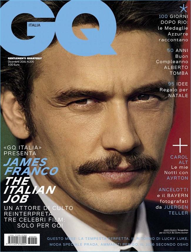 James Franco 2016 Gq Italia Cover