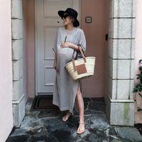 Los 15 outfits de premamá que podrían inspirarte este verano