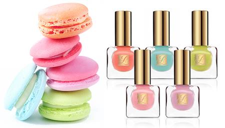 Los colores pastel inspiran a la nueva colección de esmaltes de uñas de Estée Lauder