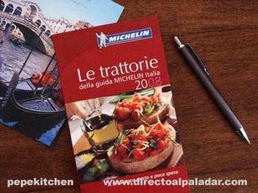 La guía Michelin de las trattorias de Italia