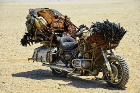 La madre de todas las motos del desierto, una Honda Goldwing