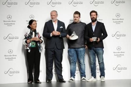 Apunta el nombre de David Catalán si te gusta la moda, ganador del Mercedes-Benz Fashion Talent