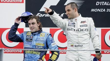 Montoya Alonso Italia F1 2005