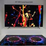 Estos nuevos paneles OLED de LG no necesitan altavoces, ya que emiten el sonido directamente desde la pantalla