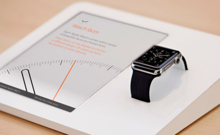 Los Apple Watch de exposición cuentan con correas personalizadas con un conector Lightning