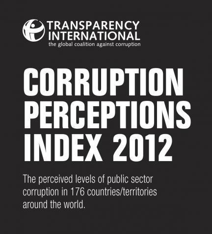Informe sobre la corrupción mundial 2012. España no destaca en transparencia