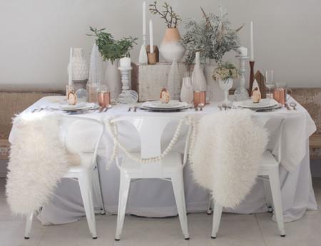 Navidad: mesa nórdica de última hora