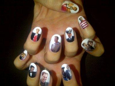 Adivina quién... decoró sus uñas para la boda