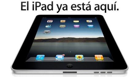 ¡Bienvenido a España, iPad!