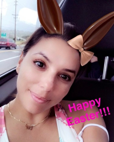 Entre conejos, huevos, fotos y más fotos fotos, las celebrities celebran la Pascua