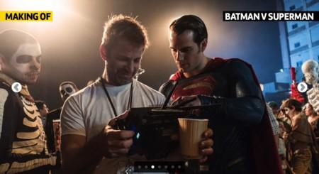 Henry Cavill y Zack Snyder