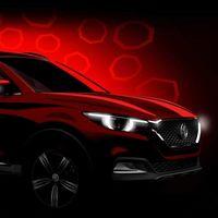 No es un Mazda. MG ya tiene listo su nuevo SUV, el XS