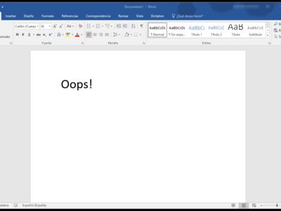 Una función no documentada de Word deja expuestos a un ataque a los usuarios de Windows, iOS y Android