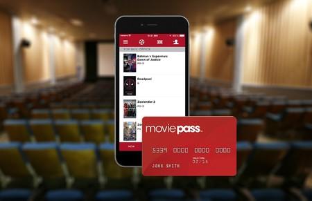 Aplicación y tarjeta de Moviepass