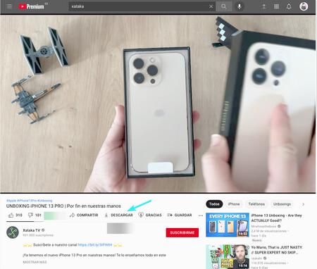 Youtube Premium Descargas 2