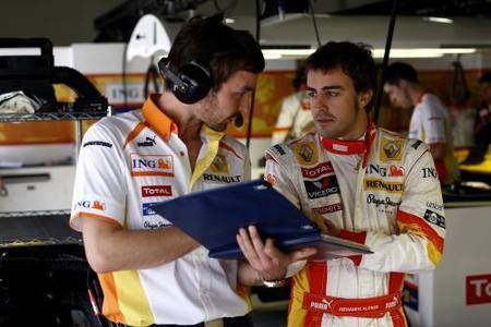 Fernando Alonso no está preocupado