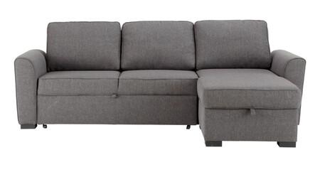Sofa Esquinero Convertible De 3 4 Plazas De Tela Gris 1000 0 31 141440 3